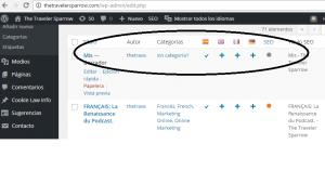 traduccion web Plugins